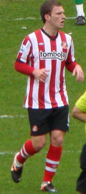 Craig Gardner - Gardner playing for Sunderland in 2012