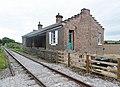 Crakehall railway station, view east, Wensleydale Railway, Yorkshire.jpg