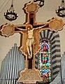 Croce dipinta della seconda metà del sec. XIV, Chiesa di San Fedele (Poppi).jpg