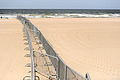Crowd control barriers on the beach - 37th G8 summit in Deauville 027.jpg