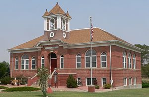 Crowley, Colorado - Image: Crowley County Heritage Center from SE 1