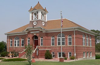 Crowley, Colorado - The Crowley County Heritage Center, formerly the Crowley School, is listed in the National Register of Historic Places.