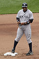 Curtis Granderson 2nd base 2011.jpg