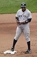 Curtis Granderson 2nd base 2011.jpg