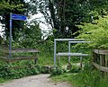 Cycleway sign, Draycote - geograph.org.uk - 1295736.jpg