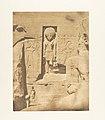 Décoration de l'entrée du grand Spéos d'Abousembil (Le Dieu Phré recevant les offrandes de Rhamsès-le-grand) MET DP131961.jpg