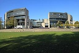 Platz des Landtags in Düsseldorf