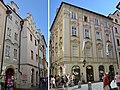 Dům čp. 19 a čp. 20 U klíčů (s renesanční fasádou), čp.21 U Zlaté slámy Husova, Praha 1.jpg