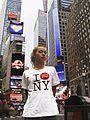 DANNY FLYNN - 'I DM NY' T-shirt - 28-06-2007.jpg