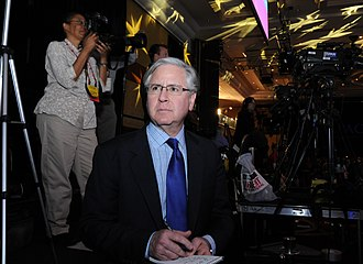 Howard Fineman - Fineman on the campaign trail at the CPAC Conference (February, 2012)