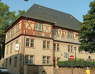 Höchst (Frankfurt am Main) - Image: Dalberghaus 2