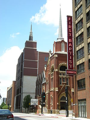 First Baptist Church (Dallas) - Image: Dallas First Baptist Church 01