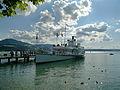 Dampfschiff Stadt Rapperswil - Schifflände Rapperswil 2012-07-22 17-26-22 (N8).jpg