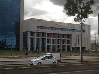 Council of State (Turkey) - Image: Danıştay