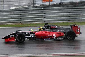 Daniël de Jong - Daniël de Jong at the 2011 Nürburgring World series by Renault round