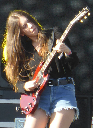Trouble (Natalia Kills album) - Danielle Haim played guitar for Trouble