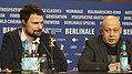 Danila Kozlovsky and Alexei German Jr. - Dovlatov - Press Conference.jpg
