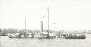 Danish ironclad Gorm - Image: Danish Ironclad Gorm (1870)