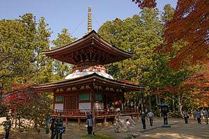 Mount Kōya - Image: Danjogaran Koyasan 23n 3200