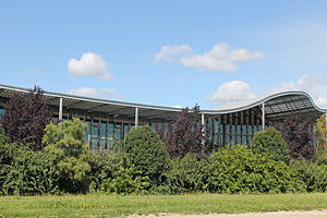 Danone - The research center of Danone in the business cluster of Paris-Saclay, France.