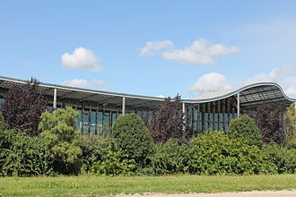 Danone - The research center of Danone in the business cluster of Paris-Saclay, France