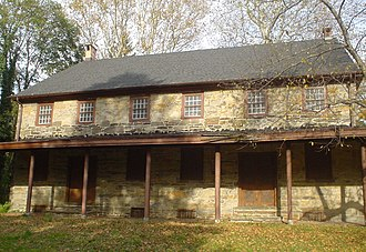 Darby, Pennsylvania - Darby Friends Meeting House, built 1805