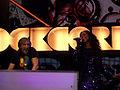 David Guetta and Kelly Rowland Live - Orange Rockcorps London 2009.jpg