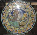 David Zipirovic, piatto con testa di re magio (da Perugino).jpg