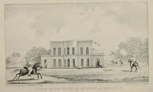 Samuel Davis (orientalist) - Image: Davies House Attacked Vizier Ali
