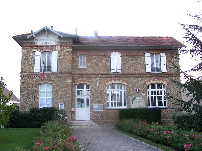 Mairie de Davron (Yvelines, France)