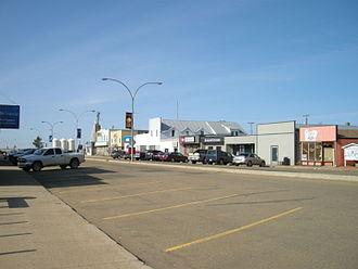 Daysland - Main Street, Daysland, 2012