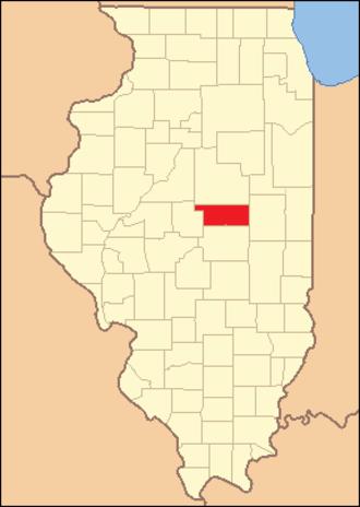 DeWitt County, Illinois - Image: De Witt County Illinois 1839