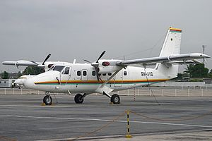 Airlines PNG Flight 4684 - A De Havilland Canada DHC-6-300 Twin Otter, similar type of the crashed plane