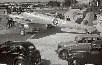 De Havilland Hornet - The Hornet prototype RR 915, 1944