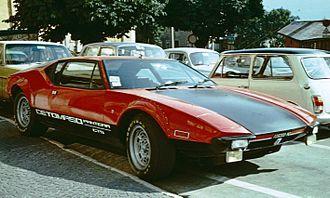 De Tomaso Pantera - De Tomaso Pantera GTS