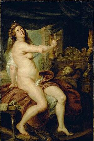 Abradatas - Death of Pantheia by Peter Paul Rubens
