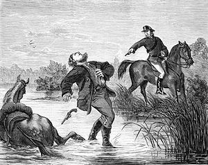 Bushranger - Captain Thunderbolt's death marked the end of the 1860s bushranging epidemic in New South Wales.