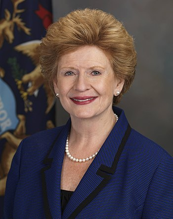 Official portrait of United States Senator (D-MI).