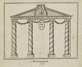 Decoratie op de Nieuwendijk, 1795 Nieuwendyk (titel op object), BI-B-FM-099-17.jpg