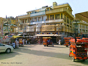 Shikarpur, Sindh - Deewan Ramchand's historical restaurant is very famous for its Sweets and Kulfi-Falooda