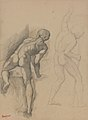 Degas - Two Nude Men, between 1856 and 1857.jpg