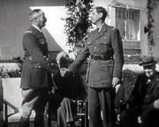 Henri Giraud and de Gaulle during the Casablanca Conference in January 1943.