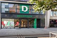 Deichman-Laden in Frankfurt