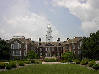 First State Heritage Park - The Delaware State Capitol (or Legislative Hall) in Dover
