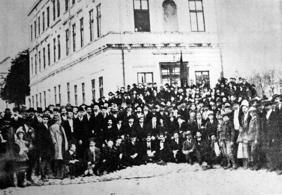 Delegati Prvog kongresa SRPJ(k)