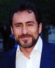 Demián Bichir at the Vanity Fair party for the Tribeca Film Festival, April 17, 2012