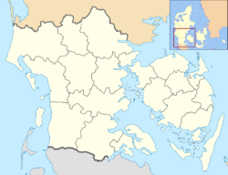 Nyborg is located in Region of Southern Denmark