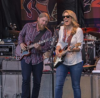 Tedeschi Trucks Band American blues and blues rock group