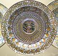 Deruta, piatto con arme montefeltro, 1500-1508.JPG