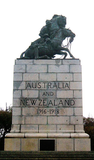 Mount Clarence, Western Australia - The Desert Mounted Corps Memorial
